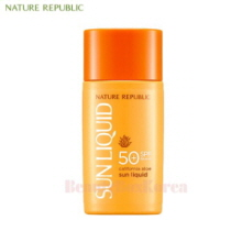 NATURE REPUBLIC California Aloe Sun Liquid SPF50+PA++++ 50ml [New]